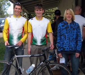 Armidale place getters: Geoff Straub (1st, A grade), Pat Ainsworth (1st, C grade), Angus Swan (3rd, U17)