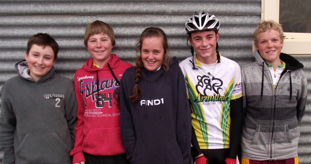 Jack Parker, Adam Bourke, Freya Weston, Harrison Munday, Sam Jenner