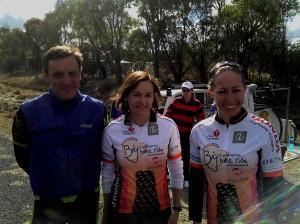 Andrew Swan, Jenny Triggs, Natalie Bates