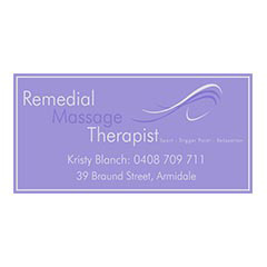 Kristy Blanch Remedial Massage